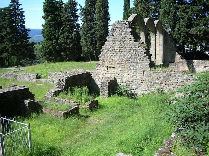考古学エリア フィエーゾレ