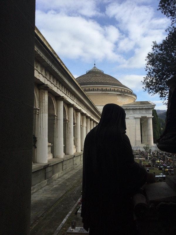 スタリェーノ墓地 パンテオンと
