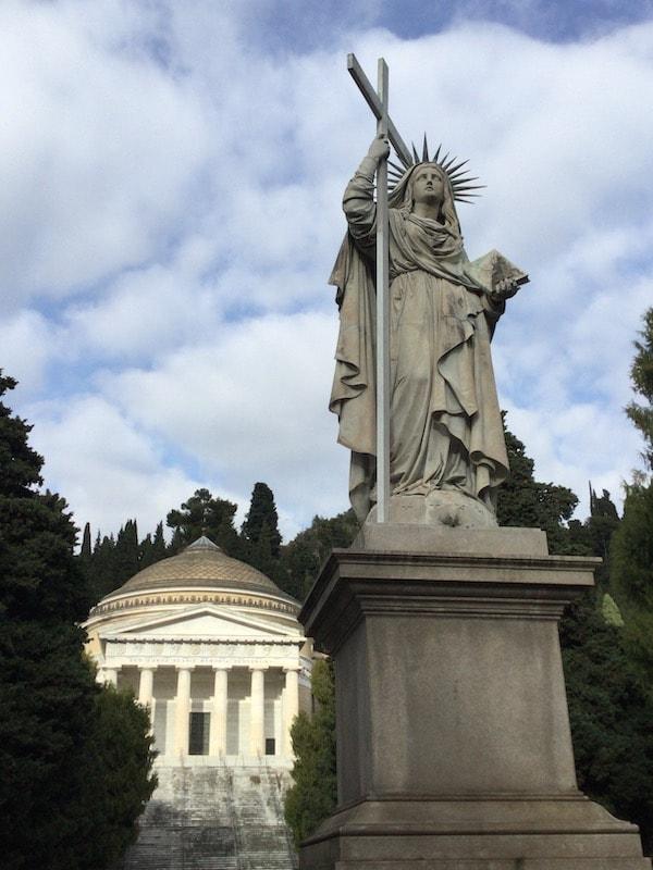 スタリェーノ墓地 ジェノヴァ