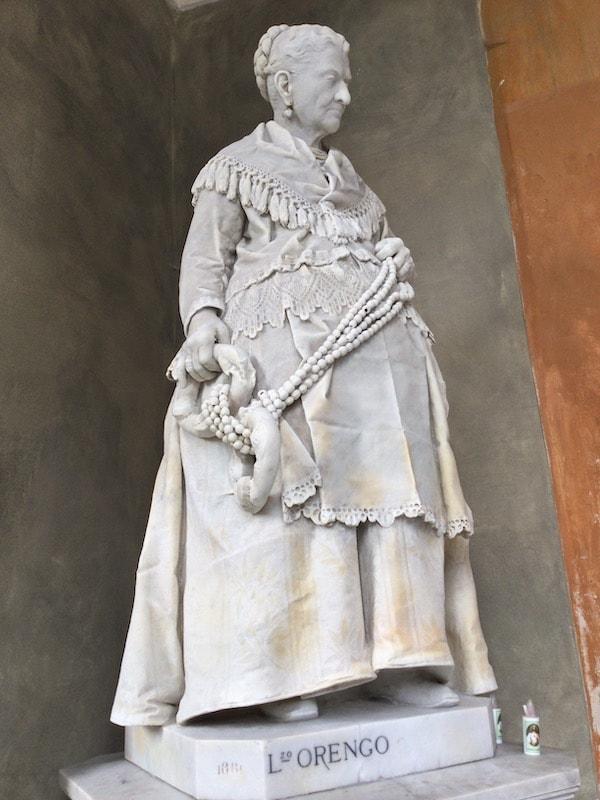 スタリェーノ墓地 カテリーナ・カンポドーニコ