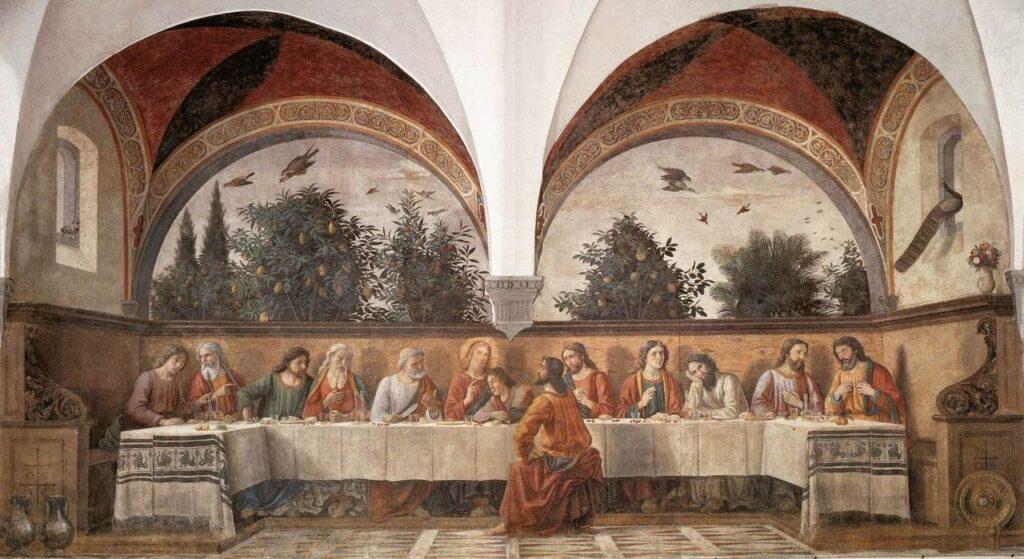 オンニッサンティの最後の晩餐 ギルランダイオ
