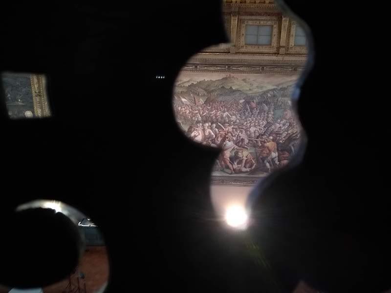 ヴェッキオ宮殿 隠し部屋