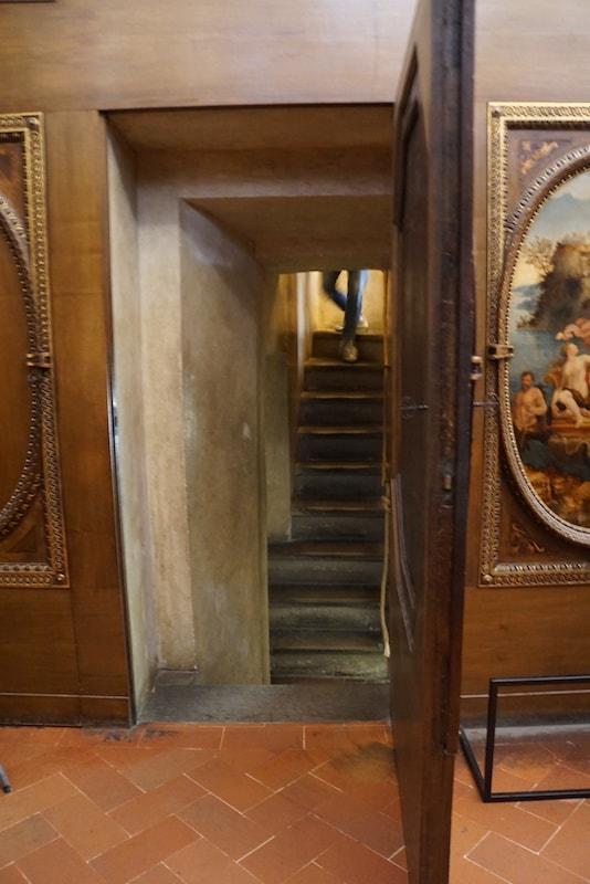 秘密の通路ツアー フランチェスコ1世の書斎