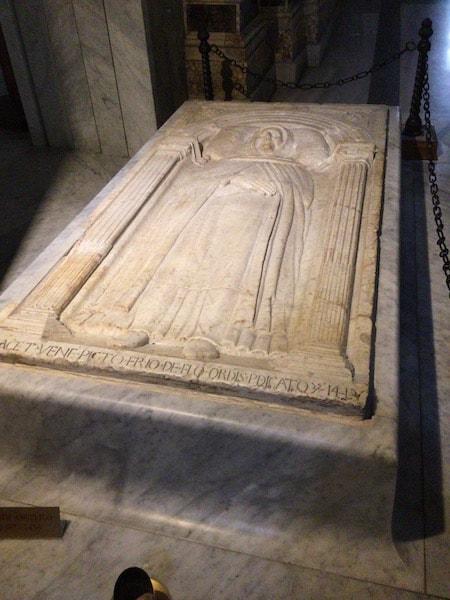 べアート・アンジェリコの墓(フラ・アンジェリコ)