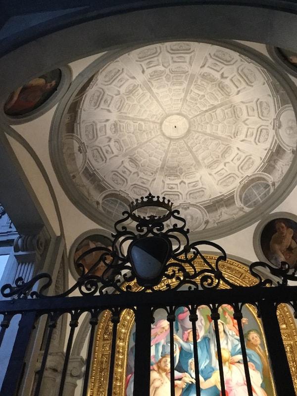 カッポー二礼拝堂 天井