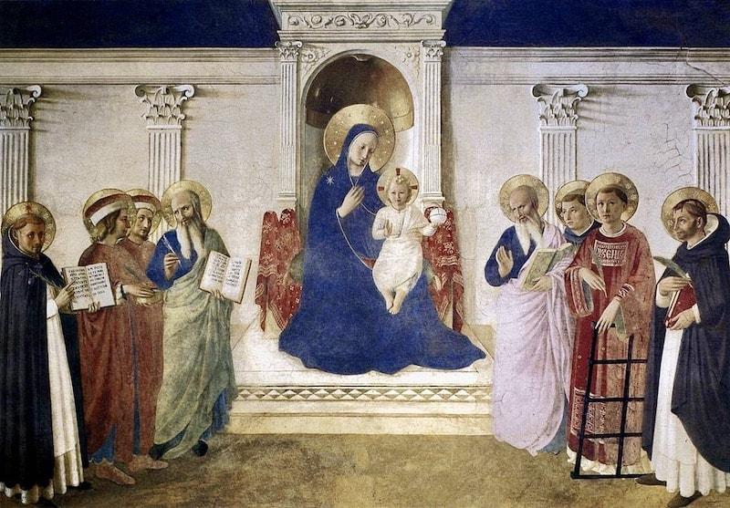 アンジェリコ 影の聖母マリア