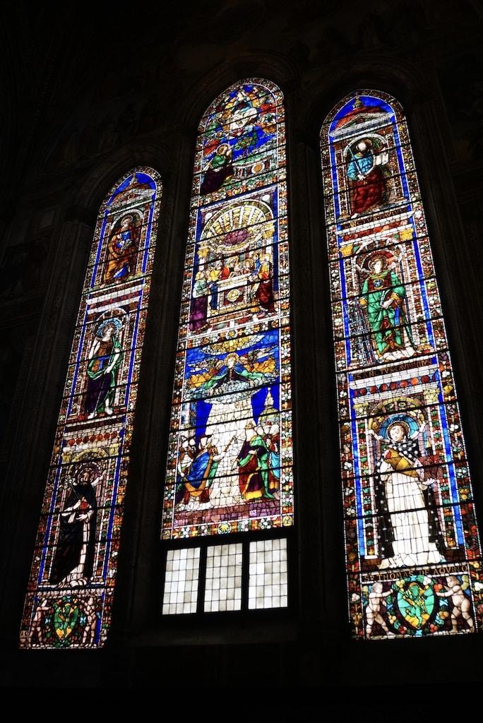 主祭壇 トルナブオーニ礼拝堂