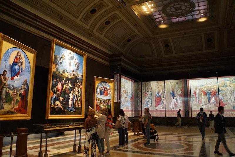 ラッファエッロ バチカン絵画館