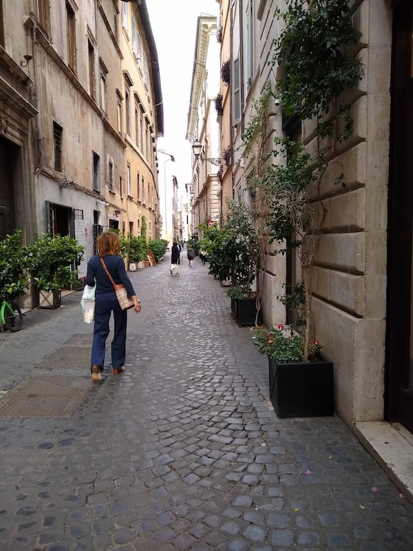 ローマ 道