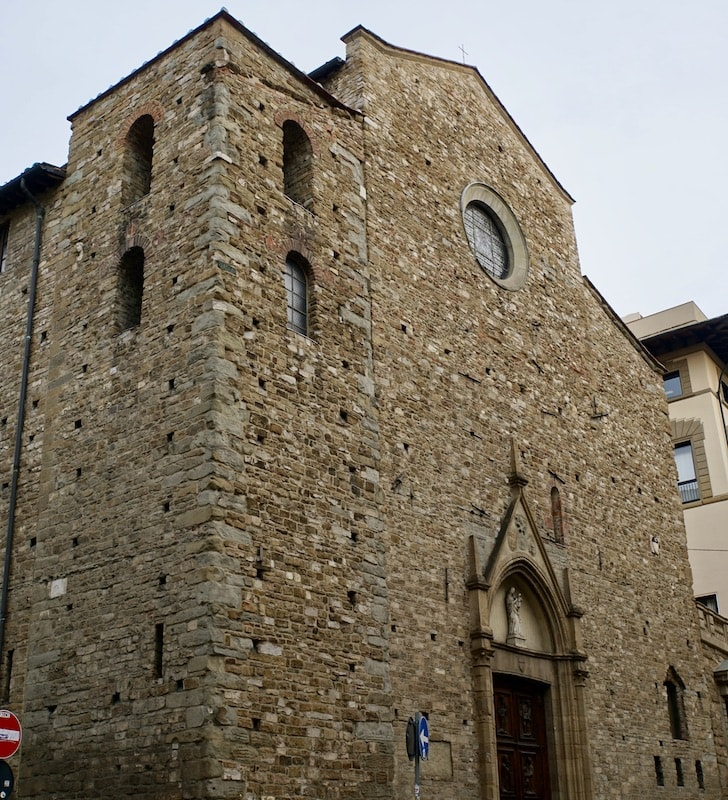 サンタ・マリア・マッジョーレ教会 フィレンツェ