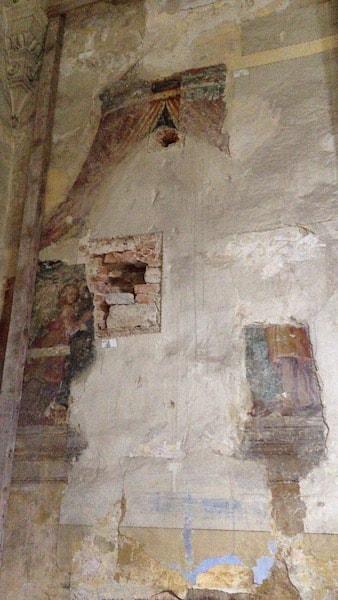 サントルソラ修道院 フレスコ画