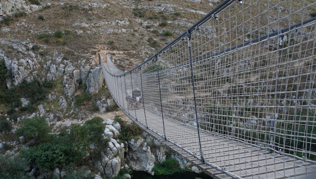 マテーラ ティベターノ橋